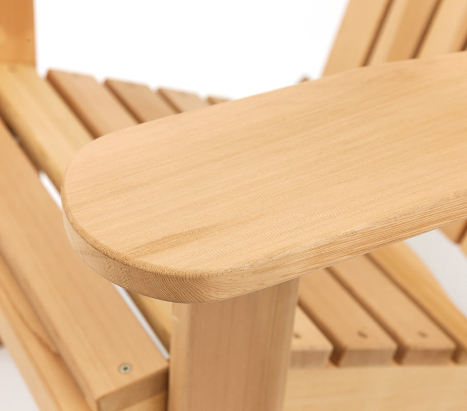 Adirondack chair detail